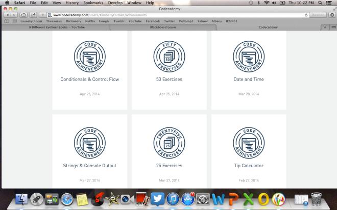 Python Badges